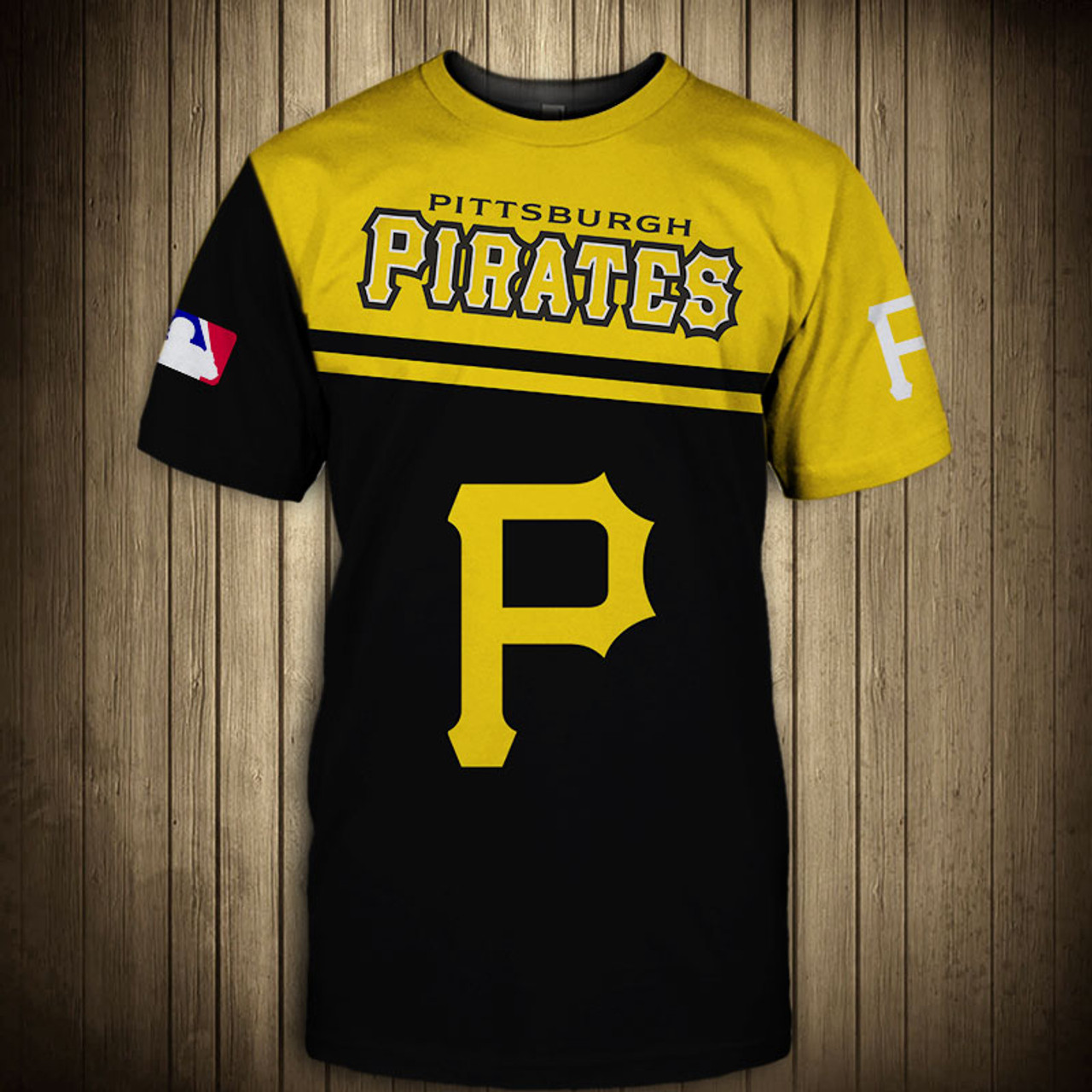 **(OFFICIAL-M.L.B.PITTSBURGH-PIRATES-TEAM-GRAPHIC-TEES/NICE-CUSTOM-DETAILED-3D-GRAPHIC-PRINTED/PREMIUM-ALL-OVER-DOUBLE-SIDED-PRINT/OFFICIAL-PIRATES-TEAM-COLORS & CLASSIC-PIRATES-3D-GRAPHIC-LOGOS/TRENDY-NEW-PREMIUM-M.L.B.PIRATES-TEES)**