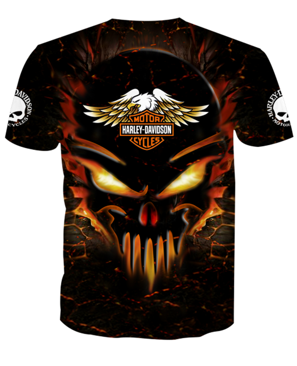 **(OFFICIAL-HARLEY-DAVIDSON-MOTORCYCLE-CUSTOM-TEES/DETAILED-3D-GRAPHIC-PRINTED-NEON-GLOWING-SKULL-DESIGN/FEATURING-OFFICIAL-CUSTOM-HARLEY-LOGOS & OFFICIAL-CLASSIC-HARLEY-COLORS/3D-DOUBLE-SIDED-GRAPHIC-DESIGN/TRENDY-PREMIUM-HARLEY-RIDING-TEES)**