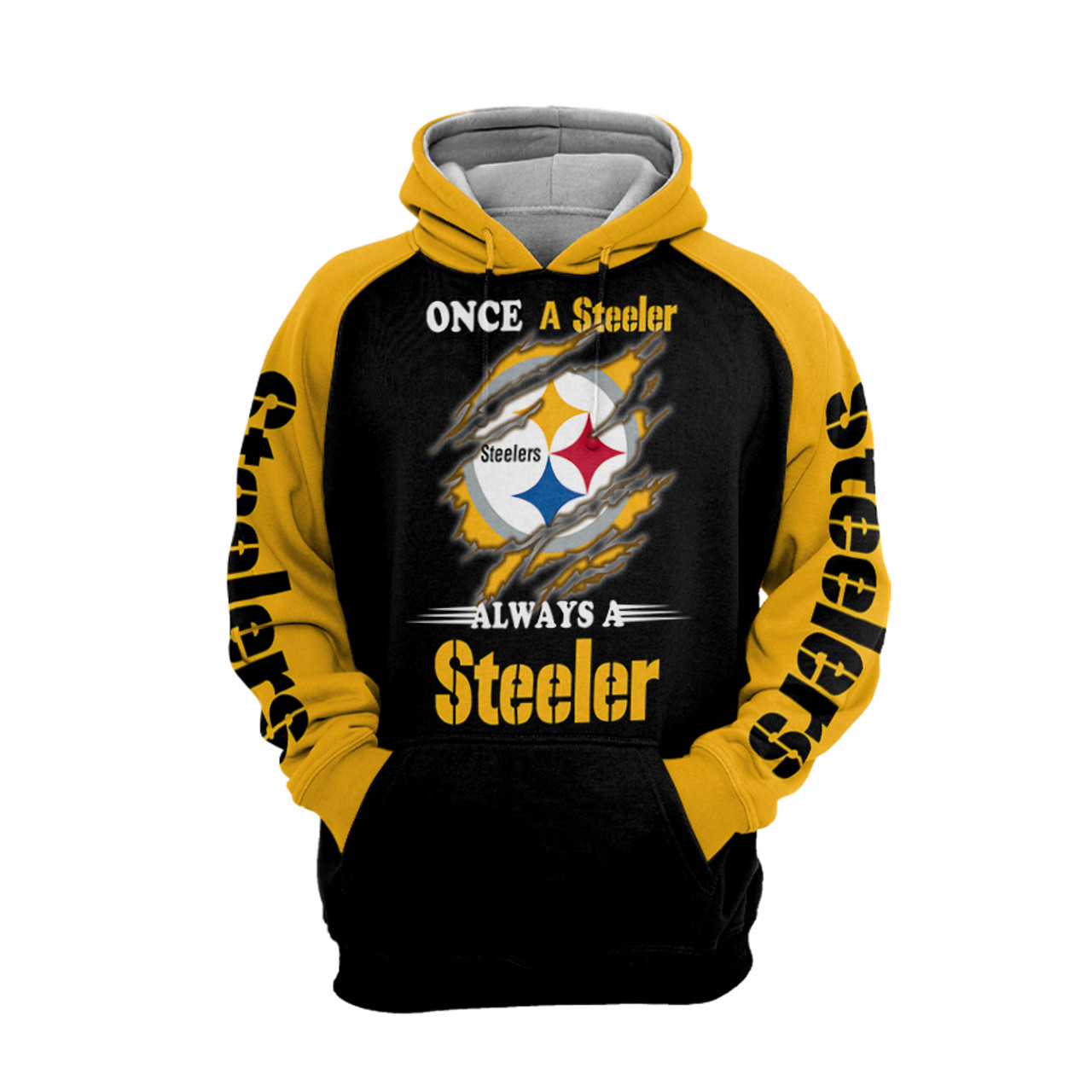 **(OFFICIAL-N.F.L.PITTSBURGH-STEELERS-PULLOVER-HOODIES/ONCE-A-STEELER-ALWAYS-A-STEELER-FAN-LOGOS/CLASSIC-OFFICIAL-STEELERS-COLORS & OFFICIAL-CUSTOM-STEELERS-LOGOS/CUSTOM-DETAILED-3D-GRAPHIC-PRINTED/WARM-PREMIUM-STEELERS-TEAM-PULLOVER-HOODIES)**