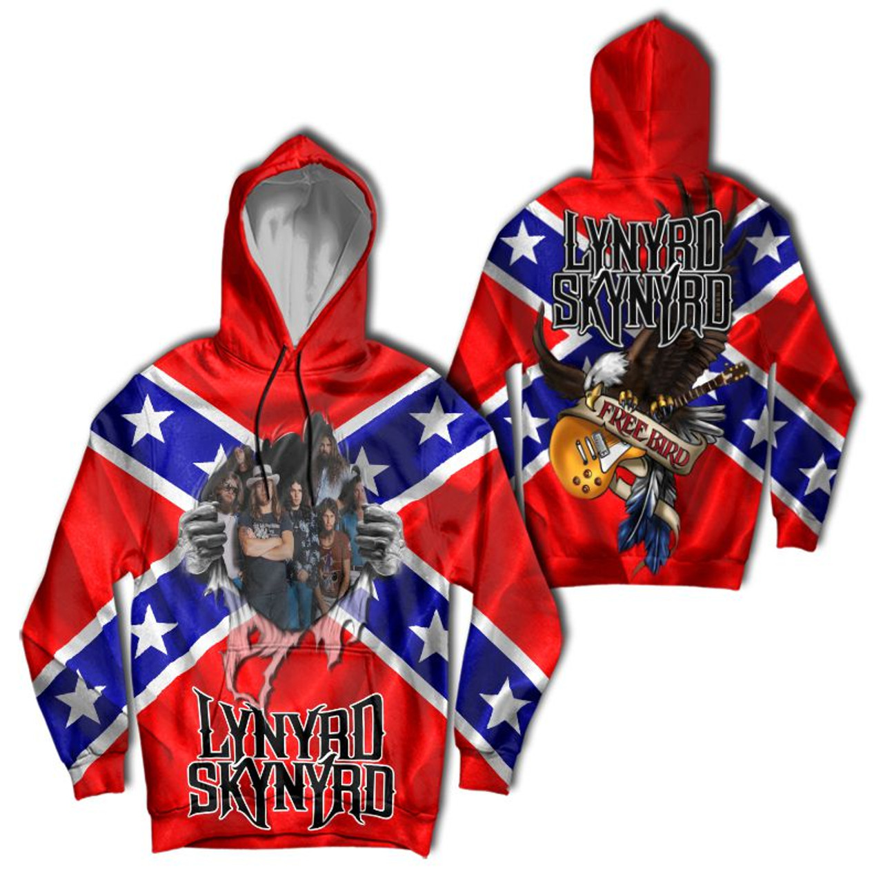 **(OFFICIAL-LYNYRD-SKYNYRD-FREE-BIRD-PULLOVER-HOODIES/DEEP-ROOTED-CLASSIC-SOUTHERN-REBEL-FLAG/NICE-CUSTOM-3D-GRAPHIC-PRINTED-DOUBLE-SIDED-DESIGN/WARM-PREMIUM-OFFICIAL-LYNYRD-SKYNYRD-CONCERT-PULLOVER-POCKET-HOODIES)**