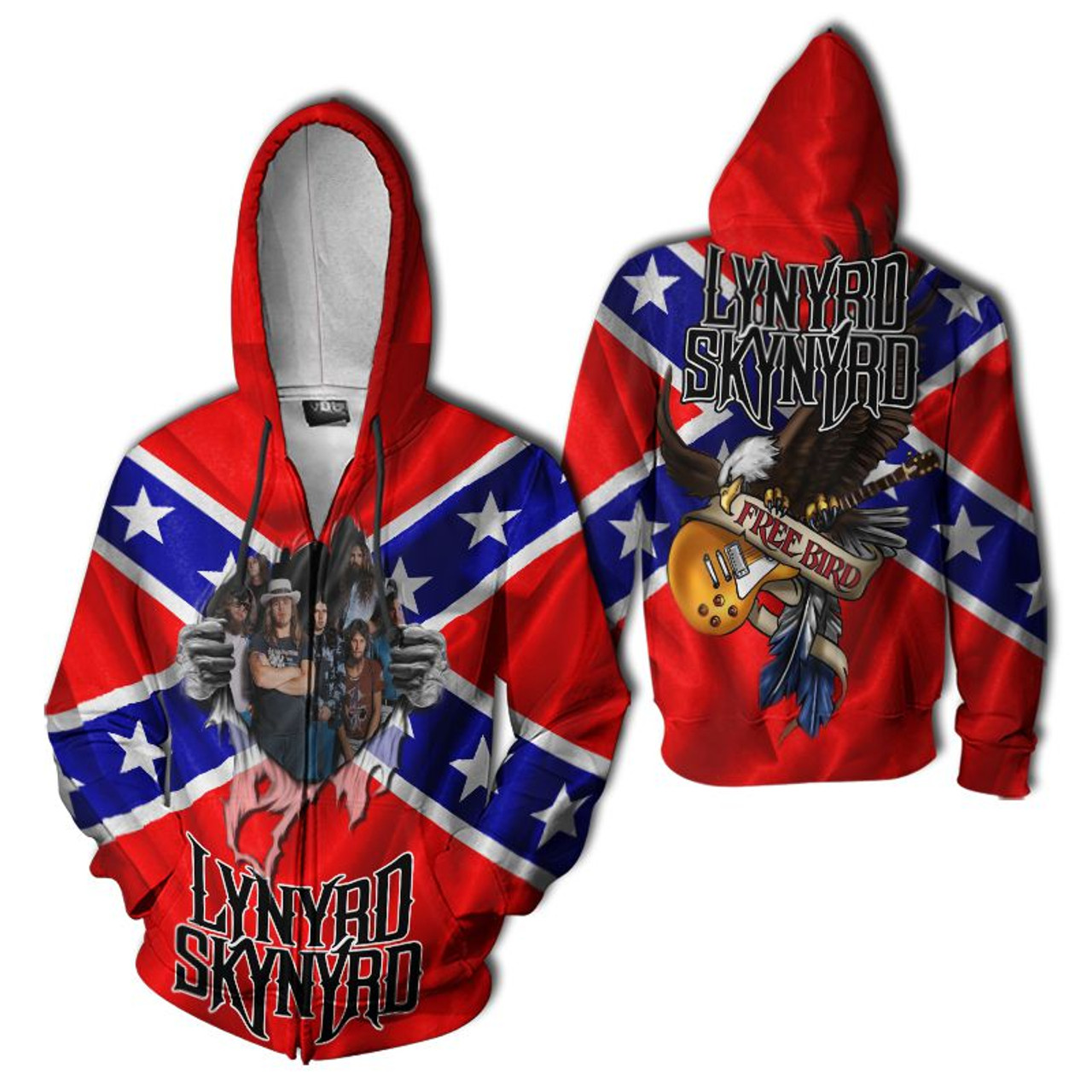 **(OFFICIAL-LYNYRD-SKYNYRD-FREE-BIRD-ZIPPERED-HOODIES/DEEP-ROOTED-SOUTHERN-CLASSIC-REBEL-FLAG/NICE-CUSTOM-3D-GRAPHIC-PRINTED-DOUBLE-SIDED-DESIGN/WARM-PREMIUM-OFFICIAL-LYNYRD-SKYNYRD-CONCERT-ZIPPERED-POCKET-HOODIES)**