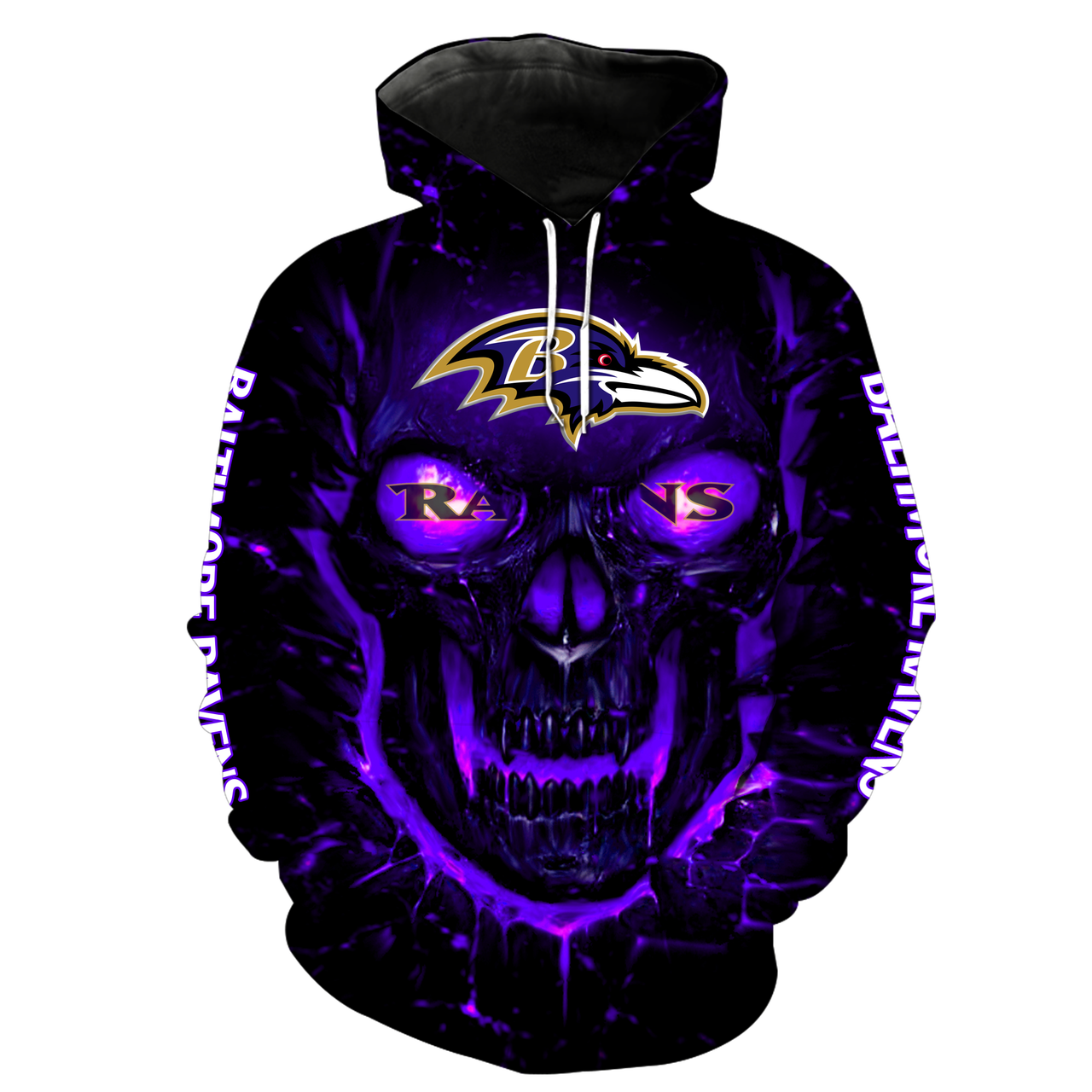 purple ravens sweatshirt