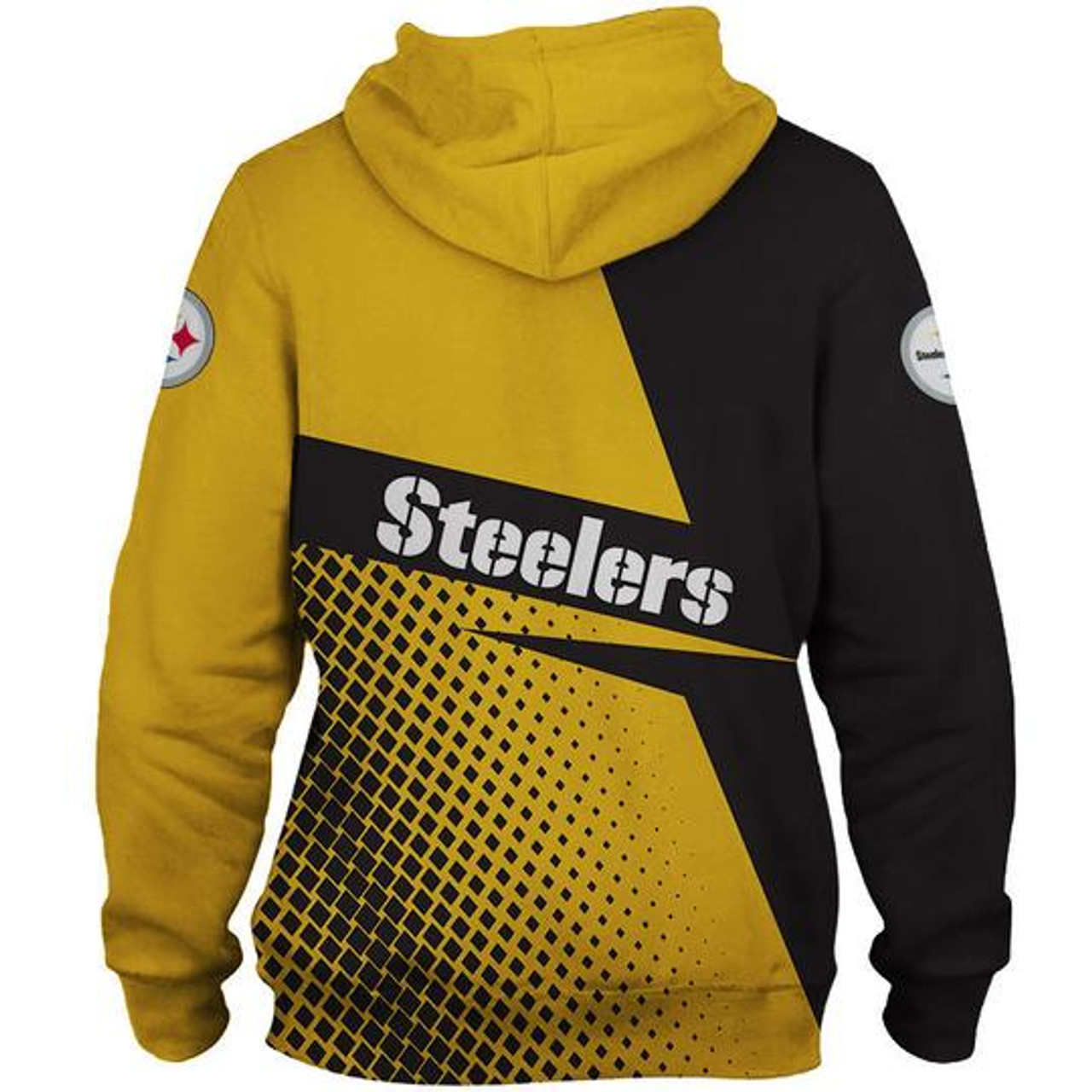 **(OFFICIAL-N.F.L.PITTSBURGH-STEELERS-PULLOVER-HOODIES/OFFICIAL-STEELERS-TEAM-LOGOS & OFFICIAL-STEELERS-TEAM-COLORS/NICE-CUSTOM-DETAILED-3D-GRAPHIC-PRINTED-DOUBLE-SIDED-DESIGN/TRENDY-WARM-PREMIUM-N.F.L.STEELERS/GAME-DAY-TEAM-PULLOVER-HOODIES)**