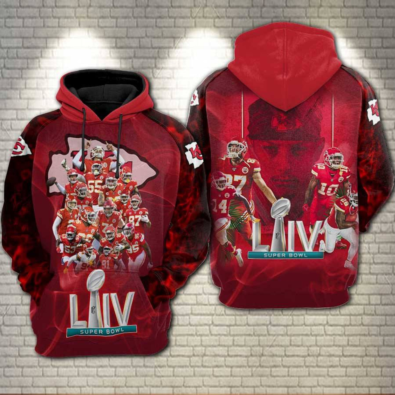 **(OFFICIAL-N.F.L.KANSAS-CITY-CHIEFS-ALL-STAR-PULLOVER-TEAM-HOODIES & SUPER-BOWL-LIV-CHAMPIONS/CUSTOM-3D-GRAPHIC-PRINTED-DESIGN/OFFICIAL-CHIEFS-TEAM-LOGOS & OFFICIAL-CHIEFS-TEAM-COLORS/NICE-WARM-PREMIUM-OFFICIAL-N.F.L.CHIEFS-TEAM-PULLOVER-HOODIES)**