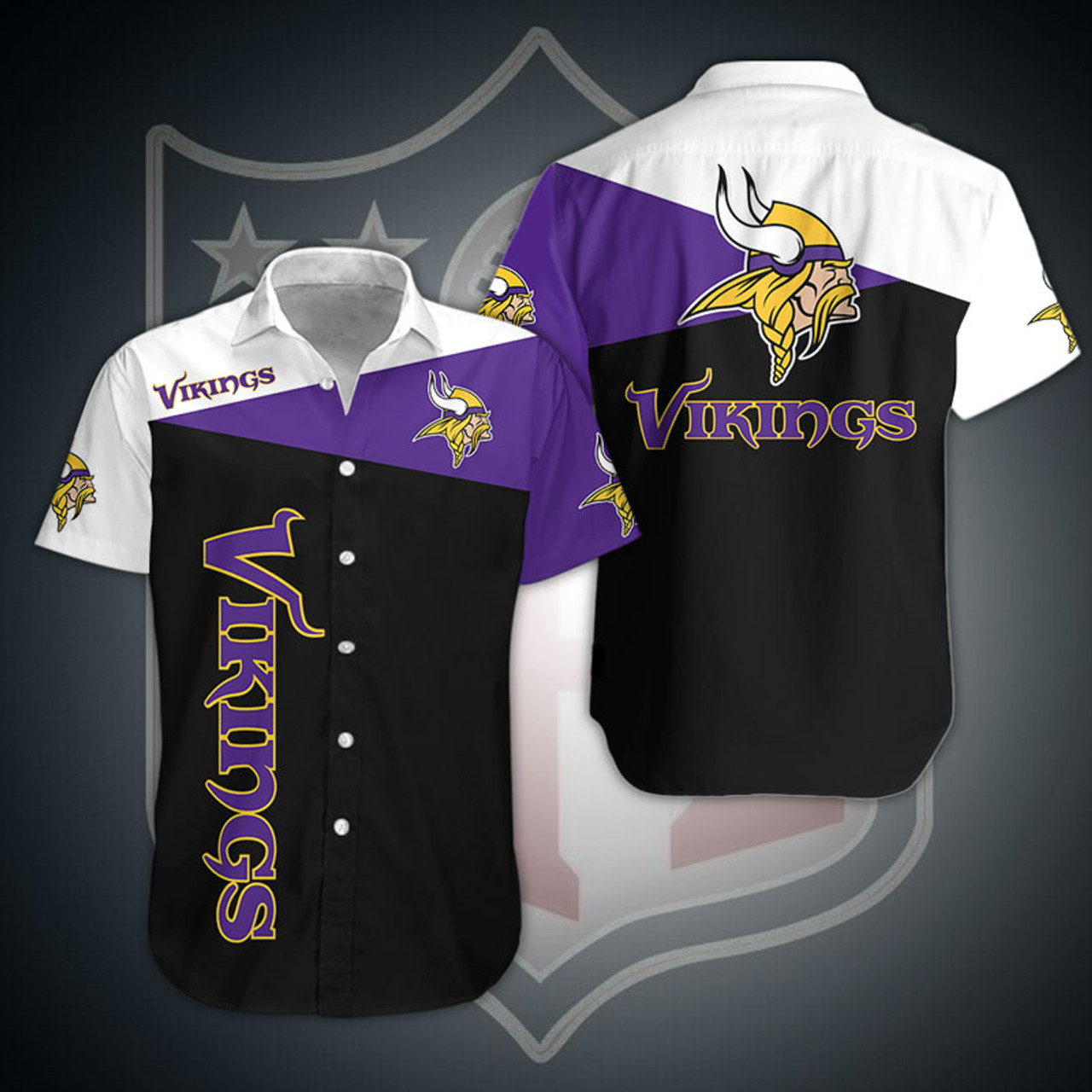**(OFFICIAL-N.F.L.MINNESOTA-VIKINGS-FASHION-BUTTON-FRONT-SPORT-SHIRTS/CUSTOM-3D-GRAPHIC-PRINTED-DETAILED-DOUBLE-SIDED-ALL-OVER/CLASSIC-OFFICIAL-VIKINGS-LOGOS & OFFICIAL-VIKINGS-TEAM-COLORS/PREMIUM-OFFICIAL-N.F.L.VIKINGS-TEAM-BUTTON-SPORT-SHIRTS)**