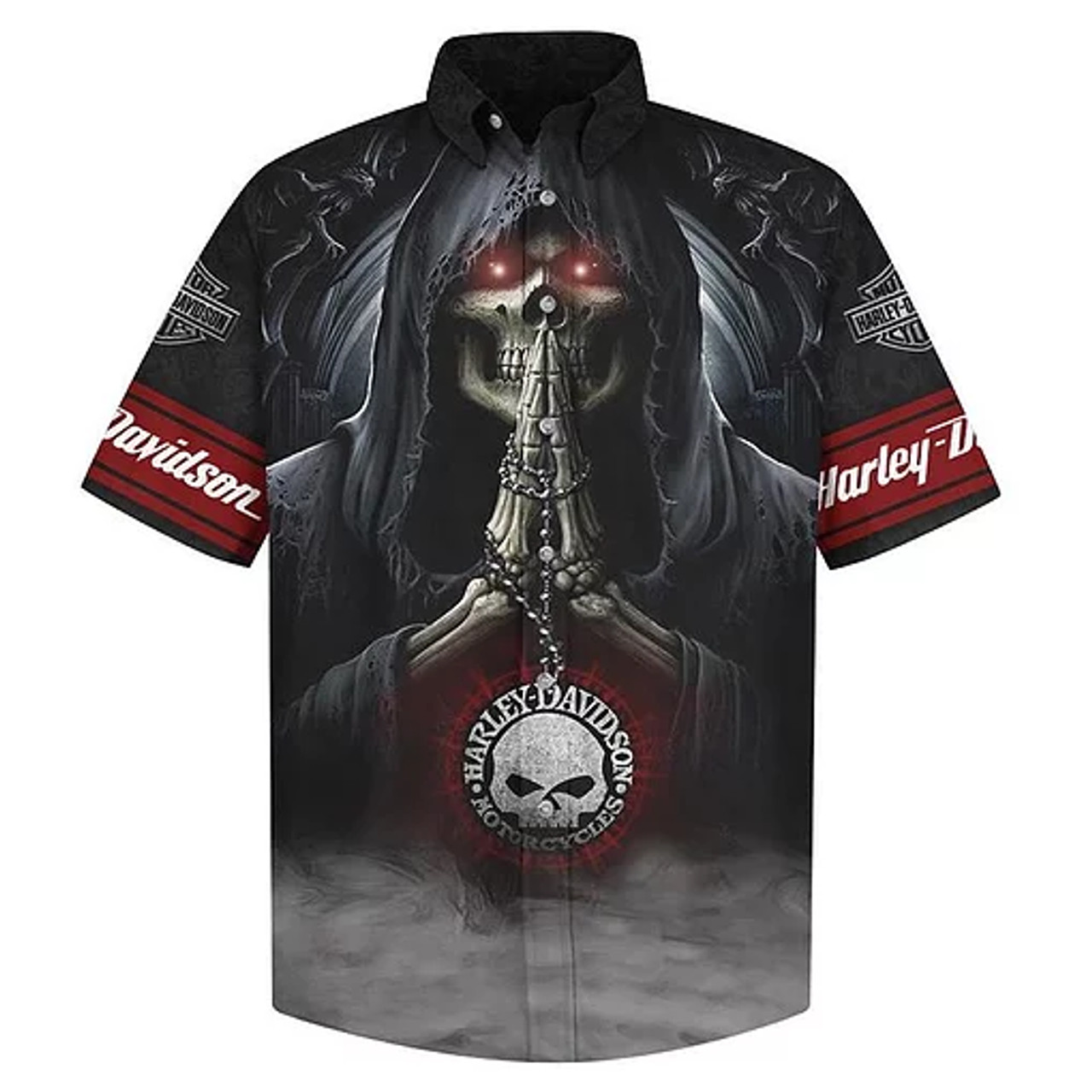 **(OFFICIAL-HARLEY-DAVIDSON-MOTORCYCLE-BIKERS-BUTTON-UP-FRONT-DRESS-SHIRTS & BIG-HARLEY-HOODED-GRIM-REAPER-SKULL-CUSTOM-3D-PRINTED-DESIGN/CUSTOM-DETAILED-3D-GRAPHIC-PRINTED-DOUBLE-SIDED-DESIGN/CLASSIC-OFFICIAL-CUSTOM-HARLEY-LOGOS & CLASSIC-OFFICIAL-HARLEY-BLACK & ORANGE-COLORS/WARM-PREMIUM-HARLEY-BIKERS-RIDING-BUTTON-UP-FRONT-SPORT-SHIRTS)**