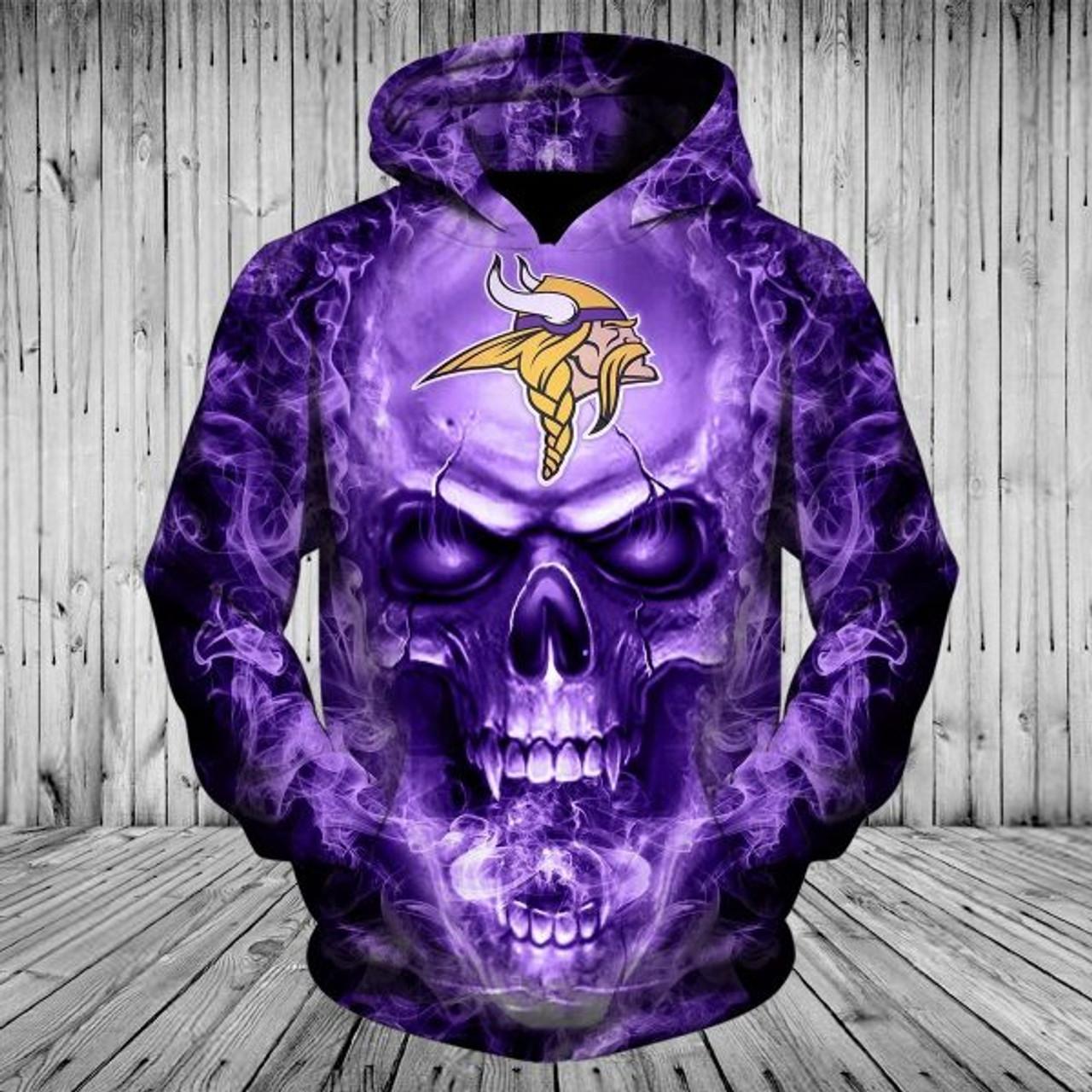 vikings armed forces sweatshirt