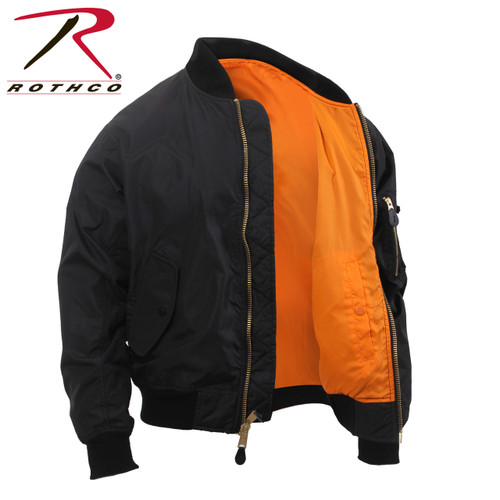 **(OFFICIALLY-LICENSED-TACTICAL-MILITARY-PREMIUM-SOFT-SHELL/WATER-PROOF-MA-1>BOMBER-BLACK/ORANGE-ZIPPERED-PREMIUM-FLIGHT-JACKETS:)**