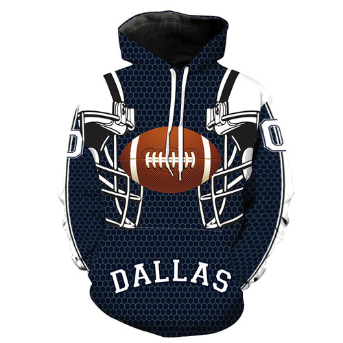 **(N.F.L. DALLAS-COWBOYS,OFFICIALLY-LICENSED-TEAM-HOODIES-IN-TRENDY NEW-BLUE & WHITE/3-D-CUSTOM-DETAILED-GRAPHIC-PRINTED/PREMIUM-WARM-FLEECE-DOUBLE-SIDED/OFFICIAL-TEAM-COLOR-POCKETED,PREMIUM-PULLOVER-HOODIES)**