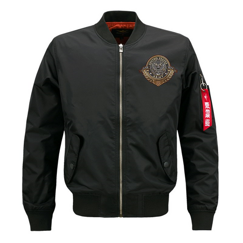 **NEW-OFFICIALLY-LICENSED-U.S. ARMY-VETERAN,MENS-HEAVY-WEIGHT-THICK-FLIGHT/BOMBER-JACKETS,WITH-SERVICE,HONER & SACRIFICE/U.S.ARMY-VETERANS-DOUBLE-SIDED-PRINTED-BOMBER/MA-1 FLIGHT-JACKETS,COMES-IN-BLACK-OR-GREEN)**