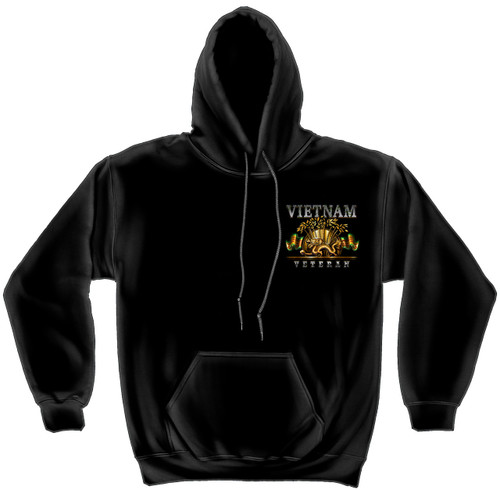 **(OFFICIALLY-LICENSED-MILITARY-VIETNAM-VETERANS & VIETNAM-DRAGON,NICE-DETAILED-GRAPHIC-CUSTOM-GRAPHIC-PRINTED/PREMIUM-DOUBLE-SIDED-WARM-FLEECE-PULLOVER,SIDE-POCKET-HOODIES:)**