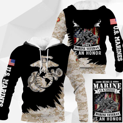 **(OFFICIAL-U.S.MARINES-CLASSIC-GLOBE & ANCHOR-SYMBOL-DIGITAL-CAMO.PULLOVER-HOODIES & BEING-A-MARINE-VETERAN-IS-AN-HONOR/NICE-DETAILED-CUSTOM-3D-GRAPHIC-PRINTED-DOUBLE-SIDED-ALL-OVER-PRINTED-DESIGN/WARM-PREMIUM-U.S.MARINES-CAMO.PULLOVER-HOODIES)**