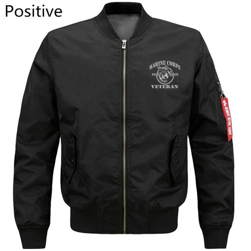 **(OFFICIALLY-LICENSED-U.S. MARINE-CORPS-VETERAN/SEMPER-FIDELIS & I-HAVE-EARNED-IT-WITH-MY-BLOOD-SWEAT & TEARS/MENS-HEAVY-WEIGHT-THICK-BOMBER-FLIGHT-JACKETS,OFFICIAL-U.S.MARINE-VETERANS-3D-GRAPHIC-PRINTED,DOUBLE-SIDED-BOMBER/MA-1 FLIGHT-JACKETS)**