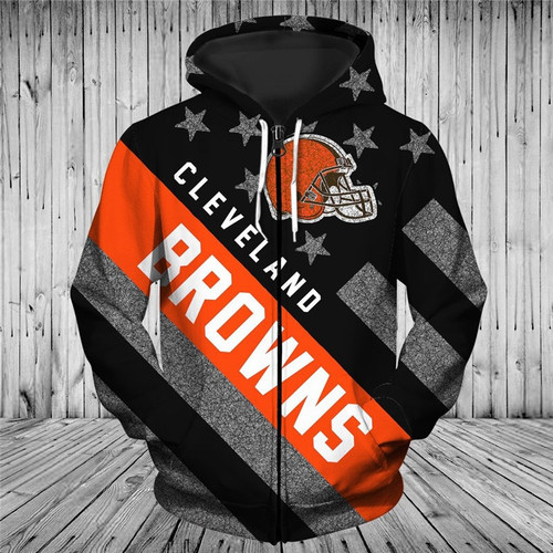**(OFFICIAL-N.F.L.CLEVELAND-BROWNS-TRENDY-PATRIOTIC-ZIPPERED-TEAM-HOODIES/NICE-CUSTOM-3D-EFFECT-GRAPHIC-PRINTED-DOUBLE-SIDED-ALL-OVER-OFFICIAL-BROWNS-LOGOS & CLASSIC-BROWNS-TEAM-COLORS/WARM-PREMIUM-OFFICIAL-N.F.L.BROWNS-TEAM-ZIPPERED-HOODIES)**