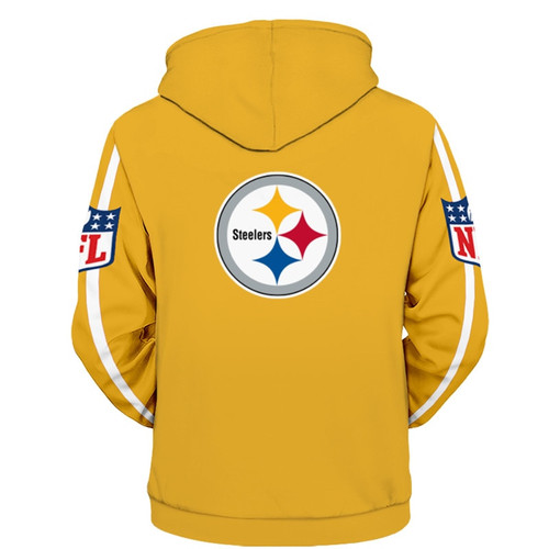 **(OFFICIALLY-LICENSED-N.F.L.PITTSBURGH-STEELERS-PULLOVER-HOODIES/ALL-OVER-GRAPHIC-3D-PRINTED-IN-STEELERS-TEAM-COLORS/NICE-DETAILED-PREMIUM-DOUBLE-SIDED-PRINT,WARM-PULLOVER-DEEP-POCKETED/OFFICIAL-N.F.L.STEELERS-TEAM-HOODIES)**