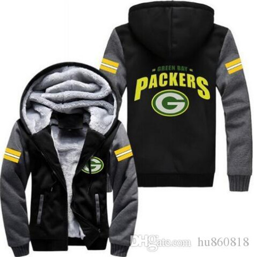 **(LIMITED-EDITION>NEW-OFFICIALLY-LICENSED-N.F.L. GREEN-BAY-PACKERS/TRENDY-NEW-TWO-TONE-STYLE,FLEECE-LINED-TEAM-JACKETS/3-D-CUSTOM-DETAILED-GRAPHIC-PRINTED-DOUBLE-SIDED-LOGOS/OFFICIAL-TEAM-COLOR-POCKETED-ZIP-UP,WARM-PREMIUM-FLEECE-JACKETS)**