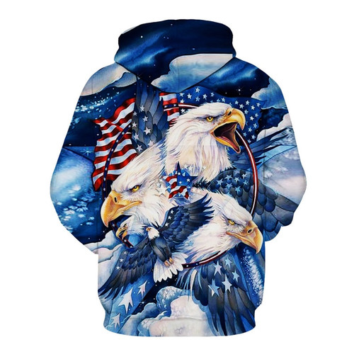 **(BIG-PATRIOT-BALD-EAGLE & PATRIOTIC-FLAG-DRAPED-BACK-GROUND-PULLOVER-HOODIES/BIG-BEAUTIFUL-SCREAMIN-BALD-EAGLE-IN-FLIGHT/NICE-3D-CUSTOM-DETAILED-GRAPHIC-PRINTED,DOUBLE-SIDED-DESIGN/NICE-WARM-PREMIUM-PULLOVER-HOODIES)**