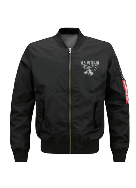 **(OFFICAIL-MILITARY-VETERAN/P.O.W. & M.I.A.>THE-TRUE-HEROS-ARE-THE-ONES-THAT-NEVER-MADE-IT-HOME/YOU-ARE-NEVER-FORGOTTEN,NICE-CUSTOM-GRAPHIC-DOUBLE-SIDED-PRINTED/PREMIUM-MILTARY-VETERANS-BOMBER-FLIGHT-JACKETS)**