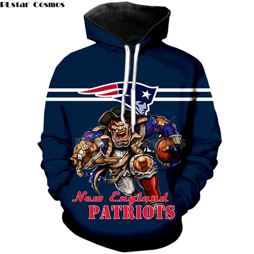 **(OFFICIAL-N.F.L.NEW-ENGLAND-PATRIOTS/BIG-3D-PATRIOTS-QUARTER-BACKS,WINNING-TOUCH-DOWN-RUN & CLASSIC-NEW-ENGLAND-PATRIOTS-LOGO,PREMIUM-3D-GRAPHIC-ALL-OVER-PRINTED/DOUBLE-SIDED-WARM-PULLOVER,N.F.L.PATRIOTS-TEAM-COLORED-HOODIES)**