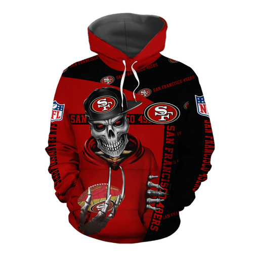 **(OFFICIAL-N.F.L.SAN-FRANCISCO-49ERS-PULLOVER-HOODIES/NEON-RED-49ERS-SKELETON-FAN/OFFICIAL-CUSTOM-3D-49ERS-LOGOS & OFFICIAL-49ERS-TEAM-COLORS/CUSTOM-3D-GRAPHIC-PRINTED-DOUBLE-SIDED-DESIGN/WARM-PREMIUM-N.F.L.49ERS-TEAM-LIGHT-PULLOVER-HOODIES)**