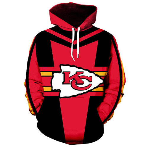 **(OFFICIALLY-LICENSED-N.F.L. KANSAS-CITY-CHIEFS-TEAM-HOODIES/NICE-CUSTOM-DETAILED-3D-GRAPHIC-PRINTED/PREMIUM-ALL-OVER-DOUBLE-SIDED-PRINT/OFFICIAL-CHIEFS-TEAM-COLORS & CLASSIC-CHIEFS-TEAM-LOGOS/DEEP-POCKETED-PULLOVER-HOODIES)**