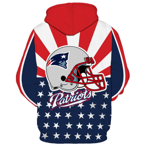 **(OFFICIALLY-LICENSED-N.F.L. NEW-ENGLAND-PATRIOTS-TEAM-HOODIES/NICE-CUSTOM-DETAILED-3D-GRAPHIC-PRINTED/PREMIUM-ALL-OVER-DOUBLE-SIDED-PRINT/OFFICIAL-PATRIOTS-TEAM-COLORS & CLASSIC-PATRIOTS-TEAM-LOGOS/DEEP-POCKETED-PULLOVER-HOODIES)**