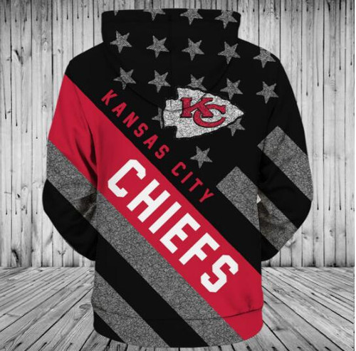 **(OFFICIALLY-LICENSED-N.F.L.KANSAS-CITY-CHIEFS-PULLOVER-HOODIES/ALL-OVER-3D-GRAPHIC-PRINTED-IN-CHIEFS-LOGOS & OFFICIAL-CHIEFS-TEAM-COLORS & FLAG,WARM-PREMIUM-PULLOVER-DEEP-POCKETED-OFFICIAL-CHIEFS-N.F.L.TEAM-HOODIES)**