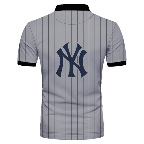 **(OFFICIAL-M.L.B. NEW-YORK-YANKEES-TEAM-POLO-BUTTON-TOP-SHIRTS/NICE-CUSTOM-DETAILED-3D-GRAPHIC-PRINTED/PREMIUM-ALL-OVER-DOUBLE-SIDED-PRINT/OFFICIAL-YANKEES-TEAM-COLORS & CLASSIC-YANKEES-BASEBALL-3D-STITCHING-GRAPHICS/PREMIUM-POLO-DRESS-SHIRTS)**