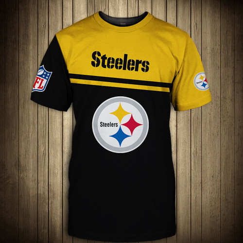 **(OFFICIAL-N.F.L.PITTSBURGH-STEELERS-TRENDY-TEAM-TEES/CUSTOM-3D-STEELERS-OFFICIAL-LOGOS & OFFICIAL-CLASSIC-STEELERS-TEAM-COLORS/DETAILED-3D-GRAPHIC-PRINTED-DOUBLE-SIDED/ALL-OVER-GRAPHIC-PRINTED-DESIGN/PREMIUM-N.F.L.STEELERS-TEAM-GAME-DAY-TEES)**