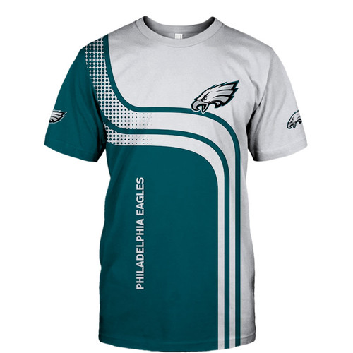 **(OFFICIAL-NEW-N.F.L.PHILADELPHIA-EAGLES-TRENDY-TEAM-TEE-SHIRTS/CUSTOM-3D-EAGLES-OFFICIAL-LOGOS & OFFICIAL-CLASSIC-EAGLES-TEAM-COLORS/DETAILED-3D-GRAPHIC-PRINTED-DOUBLE-SIDED-DESIGN/PREMIUM-N.F.L.EAGLES-GAME-DAY-TEAM-FASHION-TEE-SHIRTS)**