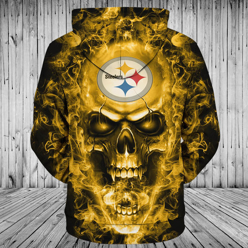 **(OFFICIAL-N.F.L.PITTSBURGH-STEELERS-TEAM-PULLOVER-NEON-SKULL-HOODIES/CUSTOM-3D-NEON-GRAPHIC-PRINTED-DOUBLE-SIDED-ALL-OVER-OFFICIAL-STEELERS-LOGOS,IN-STEELERS-TEAM-COLORS/WARM-PREMIUM-OFFICIAL-N.F.L.STEELERS-TEAM-TRENDY-PULLOVER-POCKET-HOODIES)**