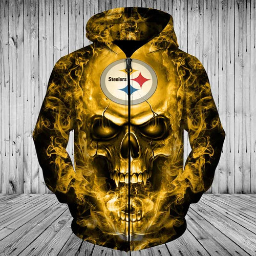 **(OFFICIAL-N.F.L.PITTSBURGH-STEELERS-TEAM-NEON-SKULL-ZIPPERED-HOODIES/CUSTOM-3D-NEON-GRAPHIC-PRINTED-DOUBLE-SIDED-ALL-OVER-OFFICIAL-STEELERS-LOGOS,IN-STEELERS-TEAM-COLORS/WARM-PREMIUM-OFFICIAL-N.F.L.STEELERS-TEAM-TRENDY-ZIPPERED-POCKET-HOODIES)**