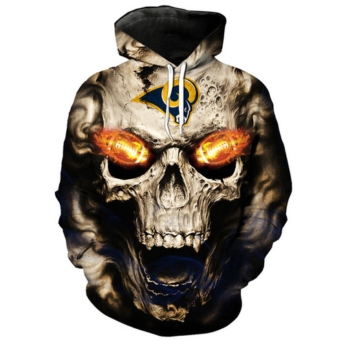 **(OFFICIALLY-LICENSED-N.F.L.LOS-ANGELES-RAMS,TRENDY-PULLOVER-HOODIES & NEON-GLOWING-FIERY-RAMS-FOOTBALL-EYES,NICE-CUSTOM-3D-GRAPHIC-PRINTED-ALL-OVER/DOUBLE-SIDED-RAMS-FOOTBALL-LOGO-TEAM-COLORS,PREMIUM-PULLOVER-POCKET-HOODIES:)**