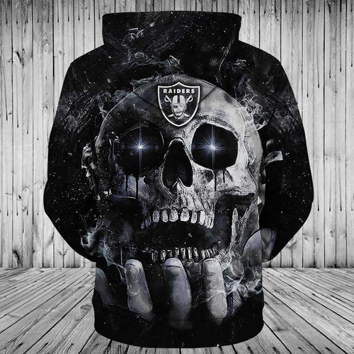 **(OFFICIAL-N.F.L.NEW-OAKLAND-RAIDERS-TEAM-PULLOVER-NEON-SKULL-HOODIES/CUSTOM-3D-NEON-GRAPHIC-PRINTED-DOUBLE-SIDED-ALL-OVER-OFFICIAL-RAIDERS-LOGOS & IN-RAIDERS-TEAM-COLORS/WARM-PREMIUM-OFFICIAL-N.F.L.RAIDERS-TEAM-PULLOVER-POCKET-HOODIES)**