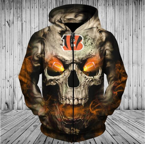 **(OFFICIALLY-LICENSED-N.F.L.CINCINNATI-BENGALS,TRENDY-ZIPPERED-HOODIES & NEON-GLOWING-FIERY-BENGALS-FOOTBALL-EYES,NICE-CUSTOM-3D-GRAPHIC-PRINTED-ALL-OVER-DESIGN/DOUBLE-SIDED-BENGALS-FOOTBALL-LOGO-TEAM-COLORS,PREMIUM-ZIP-UP-POCKET-TEAM-HOODIES:)**