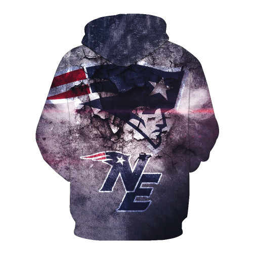 **(OFFICIALLY-LICENSED-N.F.L.NEW-ENGLAND-PATRIOTS-POCKET-PULLOVER-HOODIES/GRAPHIC-3D-PRINTED-PATRIOTS-LOGOS & IN-PATRIOTS-TEAM-COLORS/NICE-DETAILED-PREMIUM-DOUBLE-SIDED-GRAPHIC-PRINTED,OFFICIAL-N.F.L.PATRIOTS-TEAM-PULLOVER-HOODIES)**