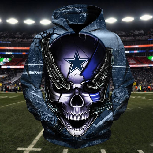 **(OFFICIAL-N.F.L.DALLAS-COWBOYS-TEAM-FOOTBALL-PULLOVER-HOODIES & COWBOYS-TEAM-LOGO-SKULL/DALLAS-CITY-CHAINS,NICE-CUSTOM-3D-GRAPHIC-PRINTED-DOUBLE-SIDED-TEAM-LOGOS,ALL-OVER-PRINTED-DESIGN/OFFICIAL-COWBOYS-FOOTBALL-PULLOVER-TEAM-HOODIES:)**