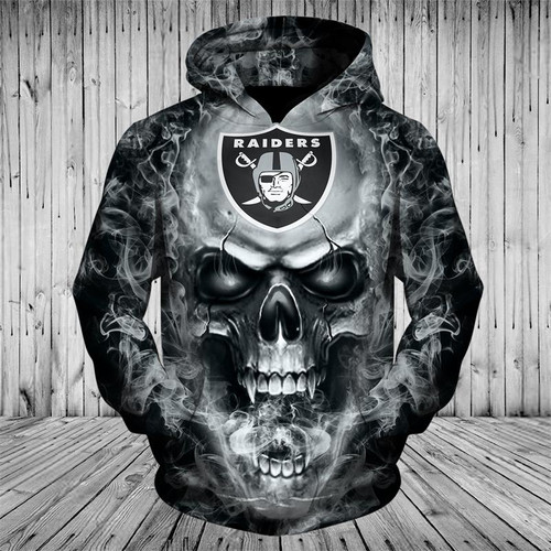 **(OFFICIAL-N.F.L.OAKLAND-RAIDERS-PULLOVER-HOODIES/CUSTOM-3D-NEON-RAIDERS-BLACK-SMOKING-SKULL,PREMIUM-3D-GRAPHIC-PRINTED,DOUBLE-SIDED-ALL-OVER-DESIGN/N.F.L.RAIDERS-TEAM-COLORED-WARM-PULLOVER-POCKET-HOODIES)**