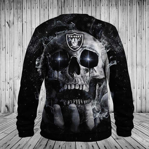 **(OFFICIAL-N.F.L.OAKLAND-RAIDERS-TEAM-NEON-SKULL-LONG-SLEEVE-SWEAT-SHIRTS/CUSTOM-3D-NEON-GRAPHIC-PRINTED-DOUBLE-SIDED-ALL-OVER-DESIGN/OFFICIAL-RAIDERS-TEAM-LOGOS & OFFICIAL-RAIDERS-TEAM-COLORS/OFFICIAL-N.F.L.RAIDERS-TEAM-PREMIUM-LONG-SLEEVE-TEES)**