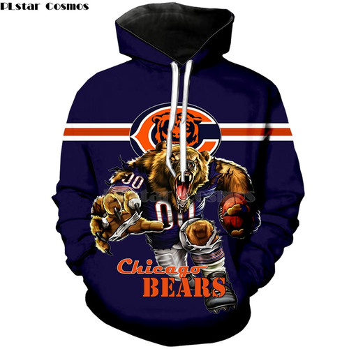 **(OFFICIAL-N.F.L.CHICAGO-BEARS-PULLOVER-HOODIES/BIG-3D-BEARS-WINNING-TOUCH-DOWN-QUARTER-BACKS-RUN & CLASSIC-CHICAGO-BEARS-LOGOS,NICE-PREMIUM-3D-GRAPHIC-PRINTED-DOUBLE-SIDED-ALL-OVER-DESIGN/N.F.L.BEARS-TEAM-COLORED,PULLOVER-POCKET-HOODIES)**