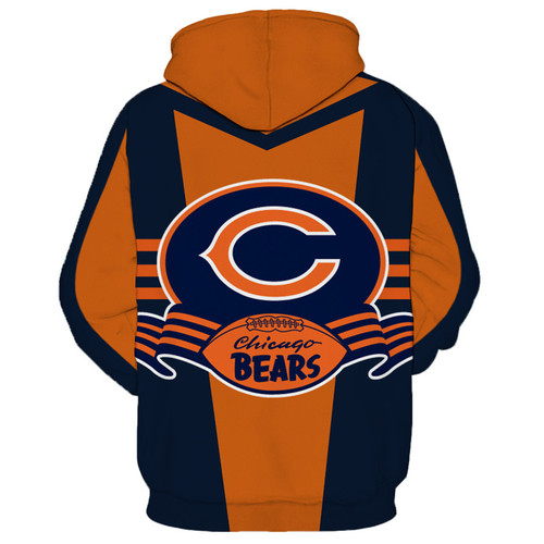 **(OFFICIAL-N.F.L.CHICAGO-BEARS-PULLOVER-HOODIES/BIG-3D-BEARS-FACE & CLASSIC-CHICAGO-BEARS-LOGOS,NICE-PREMIUM-3D-CUSTOM-GRAPHIC-PRINTED-DOUBLE-SIDED-ALL-OVER-DESIGN/N.F.L.BEARS-TEAM-COLORED,PULLOVER-POCKET-HOODIES)**