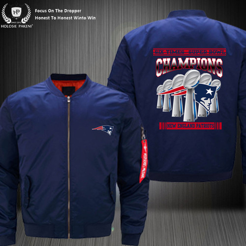 **(OFFICIAL-N.F.L.NEW-ENGLAND-PATRIOT-CUSTOM-SUPER-BOWL-LIII-CHAMPIONS-BOMBER-FLIGHT-JACKETS/SIX-TIMES-SUPER-BOWL-CHAMPION-WINNERS/NICE-CUSTOM-GRAPHIC-DOUBLE-SIDED-PRINTING/WITH-OFFICIAL-PATRIOTS-LOGOS & OFFICIAL-NFL-PATRIOTS-TEAM-HOODIES)**