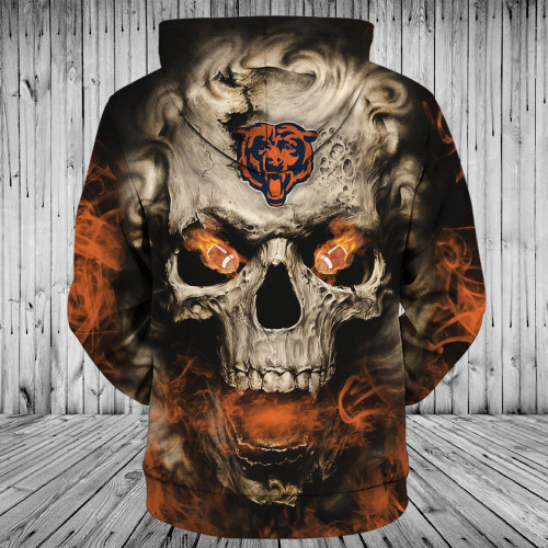 **(OFFICIAL-N.F.L.CHICAGO-BEARS-LOGO-ZIPPERED-HOODIES/3D-NEON-SMOKING-SKULL & CHICAGO-BEARS-BLAZING-FOOTBALL/ON-FIRE-IN-SKULLS-EYES,PREMIUM-3D-CUSTOM-GRAPHIC-PRINTED/DOUBLE-SIDED-N.F.L.BEARS-TEAM-COLORED,WARM-ZIP-UP-FRONT-DEEP-POCKET-HOODIES)**