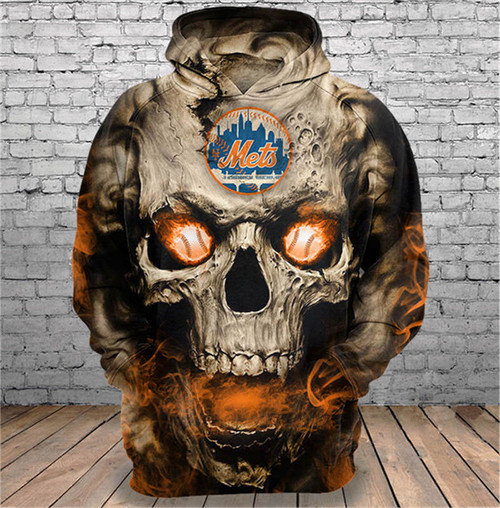 **(OFFICIALLY-LICENSED-M.L.B.NEW-YORK-METS,TRENDY-PULLOVER-HOODIES & NEON-GLOWING-SKULL/FIERY-METS-BASEBALL-EYES,NICE-CUSTOM-3D-GRAPHIC-PRINTED-ALL-OVER-DESIGN/DOUBLE-SIDED-METS-BASEBALL-LOGOS & METS-TEAM-COLORS,PREMIUM-PULLOVER-POCKET-HOODIES:)**
