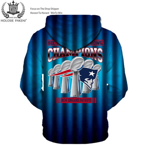 **(OFFICIAL-N.F.L.NEW-ENGLAND-PATRIOTS-SUPER-BOWL-LIII-CHAMPIONS-CUSTOM-PREMIUM-PULLOVER-HOODIES/SIX-TIMES-SUPER-BOWL-CHAMPION-WINNERS/CUSTOM-3D-GRAPHIC-DOUBLE-SIDED-PRINTING/WITH-OFFICIAL-PATRIOTS-LOGOS & OFFICIAL-PATRIOTS-TEAM-COLORS-HOODIES)**