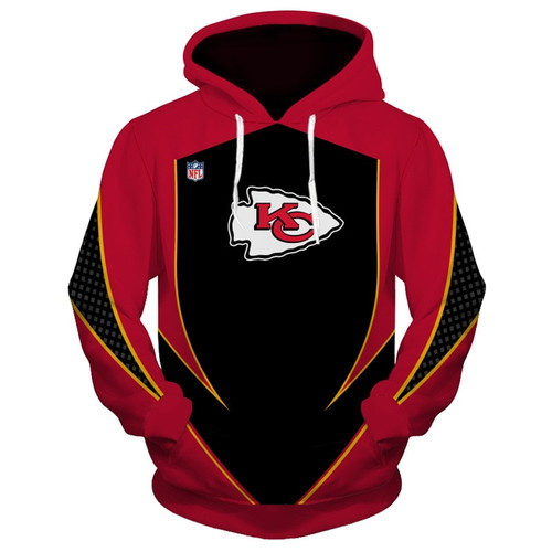 **(OFFICIALLY-LICENSED-N.F.L.KANSAS-CITY-CHIEFS-TEAM-PULLOVER-HOODIES/NEW-CUSTOM-3D-GRAPHIC-PRINTED-DOUBLE-SIDED/ALL-OVER-OFFICIAL-CHIEFS-LOGOS & IN-CHIEFS-TEAM-COLORS/WARM-PREMIUM-OFFICIAL-N.F.L.CHIEFS-TRENDY-TEAM,DEEP-POCKET-PULLOVER-HOODIES)**