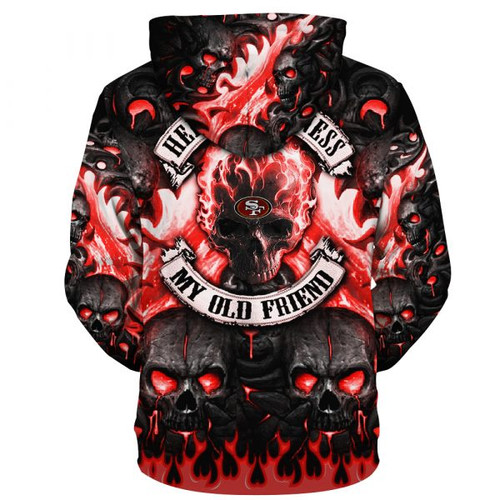 **(OFFICIAL-N.F.L.SAN-FRANCISCO-49ERS-TEAM-PULLOVER-NEON-SKULL-HOODIES/CUSTOM-3D-NEON-GRAPHIC-PRINTED-DOUBLE-SIDED-ALL-OVER-OFFICIAL-49ERS-LOGOS & IN-49ERS-TEAM-COLORS/WARM-PREMIUM-OFFICIAL-N.F.L.49ERS-TRENDY-TEAM-GAME-DAY-PULLOVER-HOODIES)**