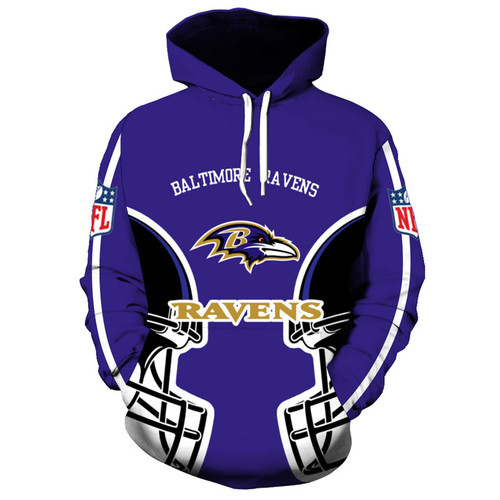 **(OFFICIALLY-LICENSED-N.F.L.BALTIMORE-RAVENS-TRENDY-PULLOVER-TEAM-HOODIES/NICE-CUSTOM-3D-GRAPHIC-PRINTED-DOUBLE-SIDED-ALL-OVER-OFFICIAL-RAVENS-LOGOS & RAVENS-OFFICIAL-TEAM-COLORS/WARM-PREMIUM-OFFICIAL-N.F.L.RAVENS-TEAM-PULLOVER-POCKET-HOODIES)**