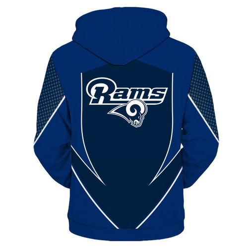 **(OFFICIALLY-LICENSED-N.F.L.LOS-ANGELES-RAMS-TEAM-ZIPPERED-HOODIES/NEW-CUSTOM-3D-GRAPHIC-PRINTED-DOUBLE-SIDED-DESIGNED/ALL-OVER-OFFICIAL-RAMS-LOGOS & IN-RAMS-TEAM-COLORS/WARM-PREMIUM-OFFICIAL-N.F.L.RAMS-TEAM/ZIPPERED-UP-FRONT-POCKET-HOODIES)**