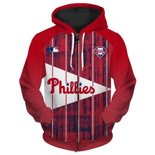**(OFFICIALLY-LICENSED-M.L.B.PHILADELPHIA-PHILLIES-TEAM-HOODIES/NICE-CUSTOM-DETAILED-3D-GRAPHIC-PRINTED/PREMIUM-ALL-OVER-DOUBLE-SIDED-PRINT/OFFICIAL-PHILLIES-TEAM-COLORS & CLASSIC-PHILLIES-BASEBALL-3D-GRAPHIC-LOGOS/PREMIUM-ZIPPERED-FRONT-HOODIES)**